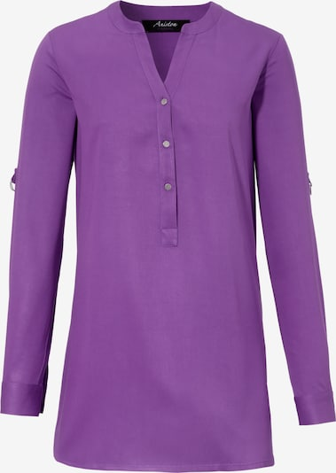 Aniston CASUAL Longbluse in lila, Produktansicht