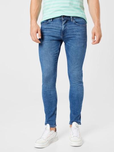TOM TAILOR DENIM Jeans in blue denim / hellgrau, Modelansicht