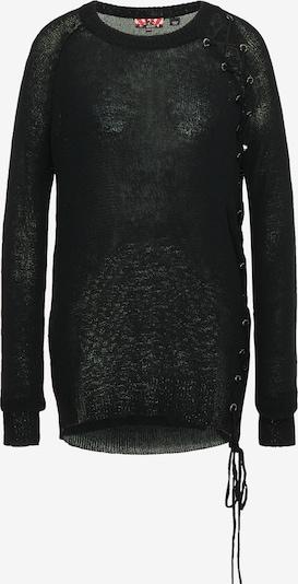 Pulover myMo ROCKS pe negru, Vizualizare produs