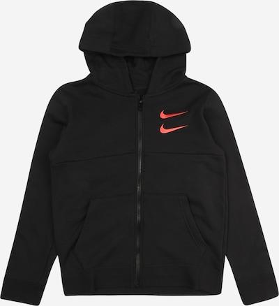 Nike Sportswear Mikina 'SWOOSH' - tmavě oranžová / černá, Produkt