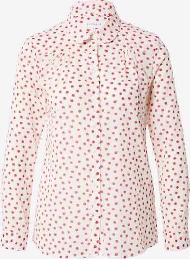 Thought Bluse 'Jesi' in rot / weiß, Produktansicht