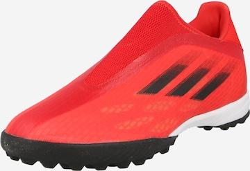 sarkans ADIDAS PERFORMANCE Futbola apavi 'X Speedflow.3'