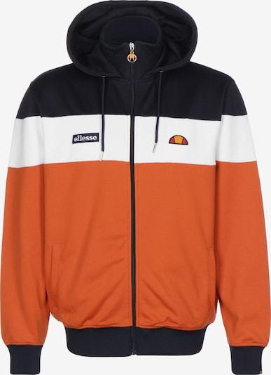 ELLESSE Sportjas in de kleur Blauw / Sinaasappel / Wit, Productweergave