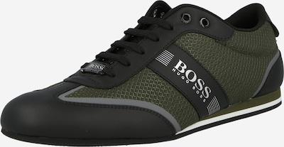 BOSS Casual Sneaker 'Ligter' in dunkelgrau / dunkelgrün / schwarz, Produktansicht