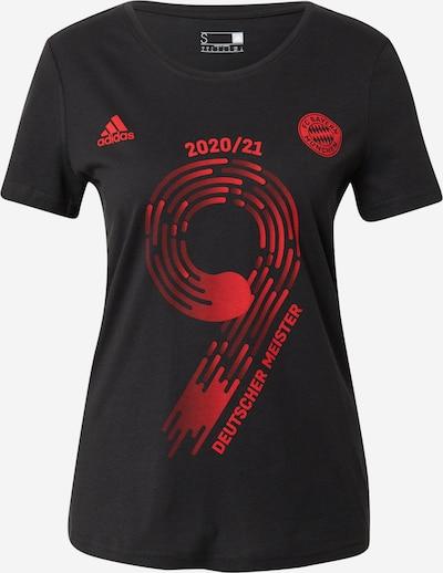 ADIDAS PERFORMANCE T-shirt fonctionnel 'FCB Meister21' en rouge / noir, Vue avec produit