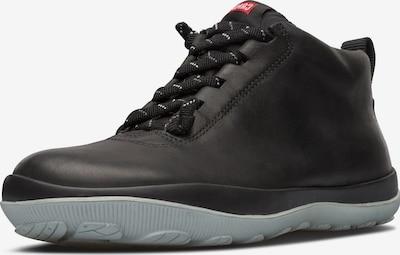 CAMPER Chaussure de sport à lacets 'Peu Pista' en taupe / gris foncé, Vue avec produit