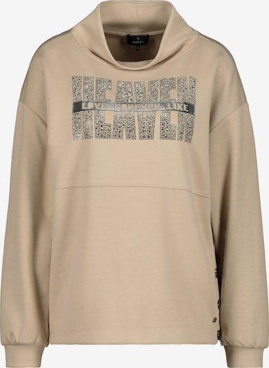monari Sweatshirt in Dark beige / Transparent, Item view