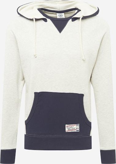 FRANKLIN & MARSHALL Sweatshirt in navy / graumeliert, Produktansicht