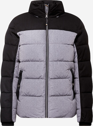 TOM TAILOR Jacke in graumeliert / schwarz, Produktansicht
