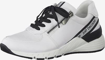 MARCO TOZZI Zapatillas deportivas bajas en negro / blanco, Vista del producto