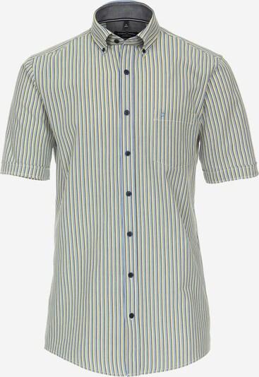 Venti Hemd in himmelblau / dunkelblau / gelb, Produktansicht