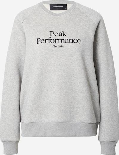 Felpa sportiva PEAK PERFORMANCE di colore grigio / nero, Visualizzazione prodotti