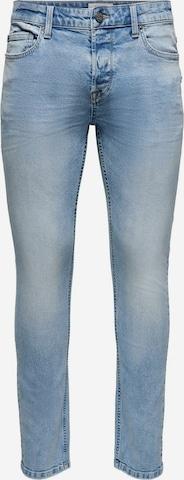 Jean Only & Sons en bleu
