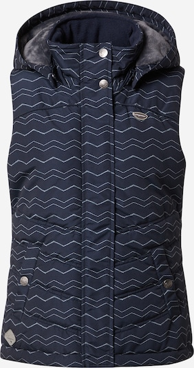 Ragwear Veste 'Hesty', krāsa - tumši zils / balts, Preces skats