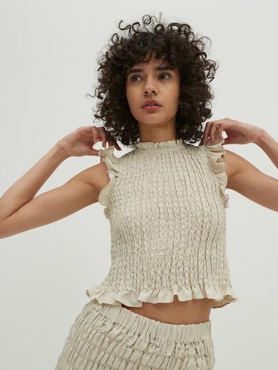 EDITED Blouse 'Ava' in de kleur Beige, Modelweergave