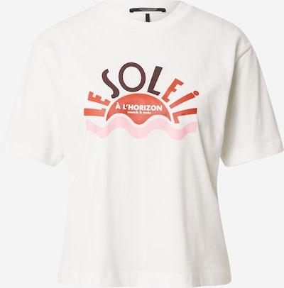 SCOTCH & SODA Shirt in rosa / rot / burgunder / offwhite, Produktansicht