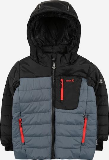 Kamik Jacke 'VAN20' in grau / rot / schwarz, Produktansicht