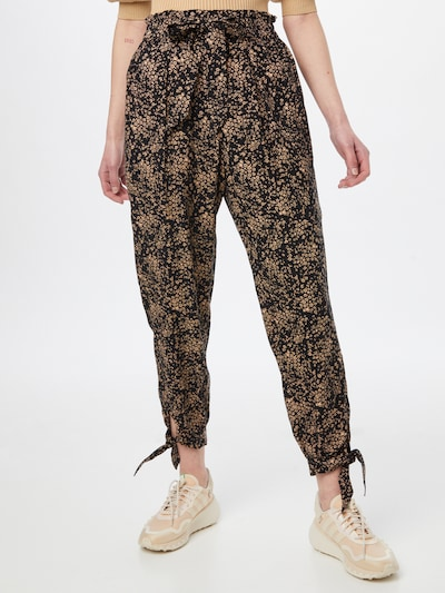 American Eagle Pleat-front trousers in Brown / Black, View model