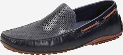 SIOUX Slipper ' Carulio-705 ' in dunkelblau / braun, Produktansicht