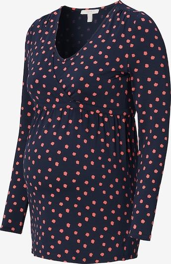 Esprit Maternity Shirt in de kleur Donkerblauw / Lichtrood, Productweergave