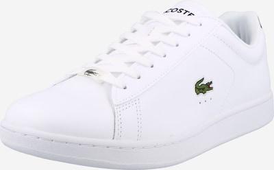 Sneaker low 'CARNABY' LACOSTE pe verde deschis / roși aprins / negru / alb, Vizualizare produs