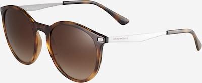 Emporio Armani Sunčane naočale '0EA4148' u smeđa / srebro, Pregled proizvoda