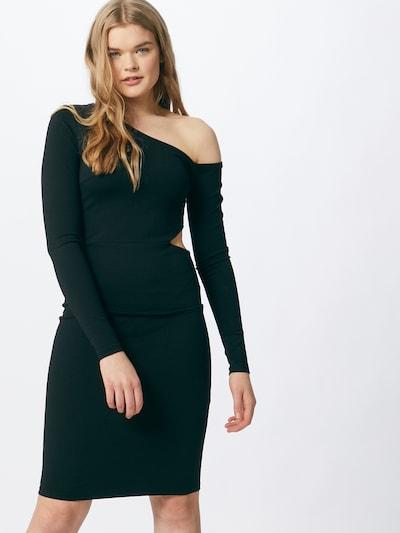 Gina Tricot Kleid 'Siv' in dunkelgrün, Modelansicht