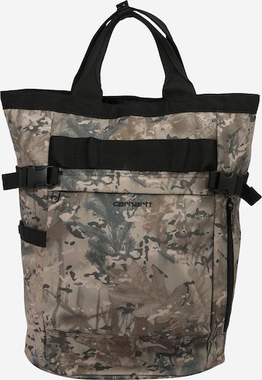 Carhartt WIP Sac à dos en marron / gris / noir, Vue avec produit