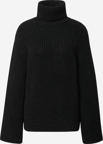 "melns Liz Kaeber ""Oversize"" stila džemperis"
