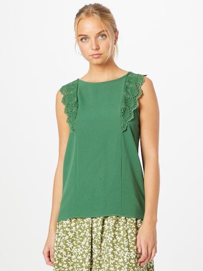 NAF NAF Блуза 'JEREMIA' в зелено, Преглед на модела