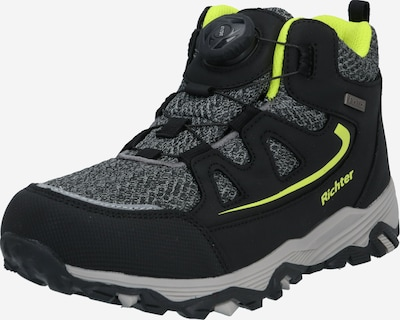 RICHTER Lage schoen in de kleur Geel / Grijs gemêleerd / Zwart, Productweergave