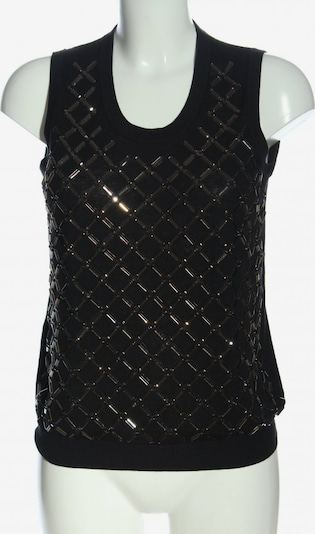 MANGO Strickweste in M in schwarz, Produktansicht
