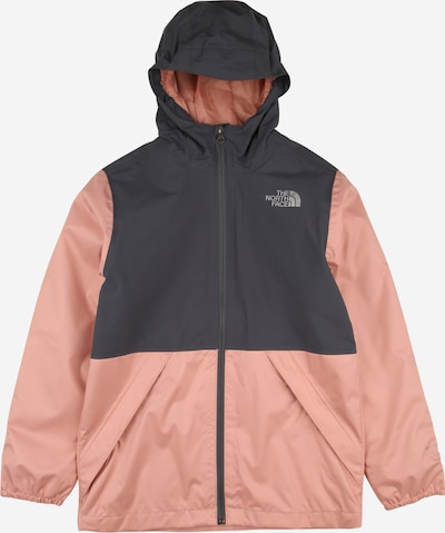 THE NORTH FACE Jacke 'ELIAN' in dunkelgrau / rosa, Produktansicht