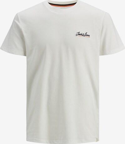JACK & JONES T-Shirt 'JORTONS' en noir / blanc naturel, Vue avec produit