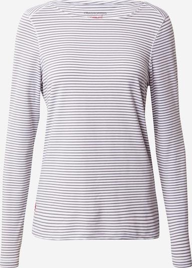 CRAGHOPPERS Funkcionalna majica 'Erin' | siva / bela barva, Prikaz izdelka