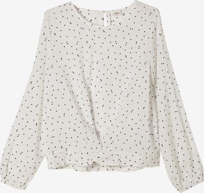 s.Oliver Blouse in Black / Off white, Item view