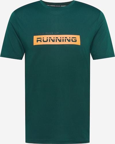 Tricou funcțional 'Carbont' ENDURANCE pe verde smarald / portocaliu / negru, Vizualizare produs