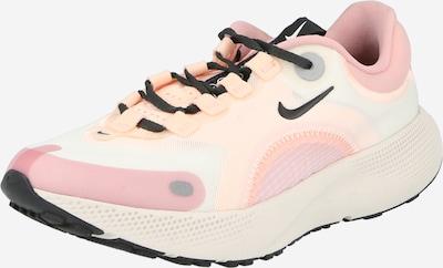 NIKE Chaussure de course 'React Escape Run' en vert pastel / rose / rosé / noir, Vue avec produit