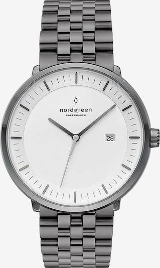 Nordgreen Uhr in grau / weiß, Produktansicht