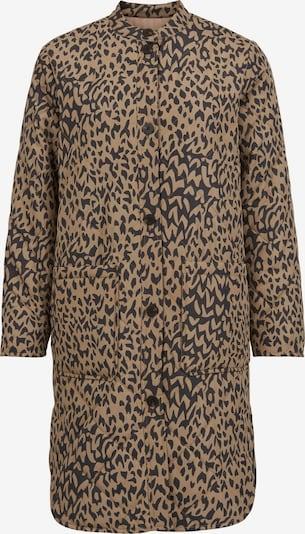 VILA Between-Seasons Coat in Light brown / Black, Item view