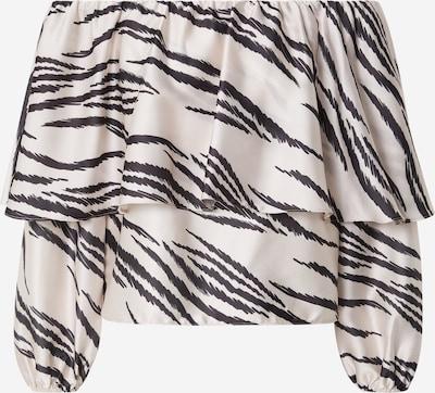 River Island Shirt in creme / schwarz, Produktansicht