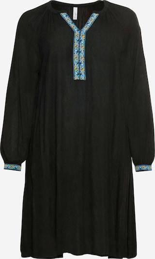 SHEEGO Robe en mélange de couleurs / noir, Vue avec produit