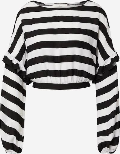Guido Maria Kretschmer Collection Shirt 'Ellen' in Black / White, Item view