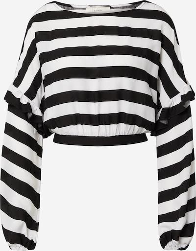Guido Maria Kretschmer Collection T-shirt 'Ellen' en noir / blanc, Vue avec produit