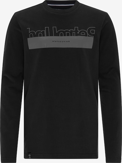 Petrol Industries Shirt in grau / schwarz, Produktansicht