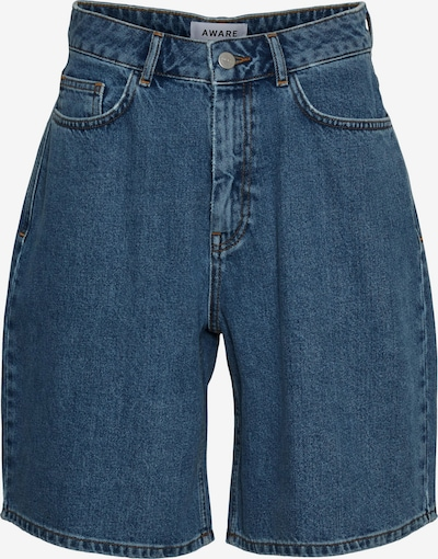 AWARE by Vero Moda Shorts 'Emily' in blue denim, Produktansicht