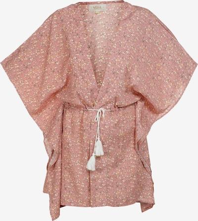 usha FESTIVAL Kimono in de kleur Geel / Oudroze / Zwart / Wit, Productweergave