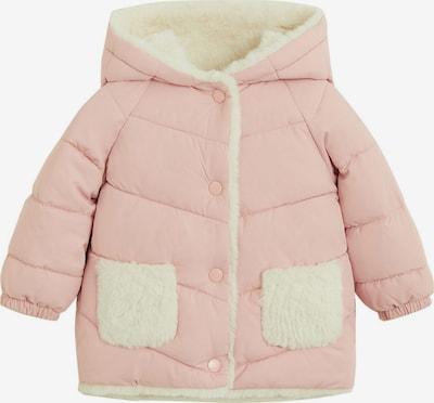 MANGO KIDS Jacke in pastellpink / wollweiß, Produktansicht