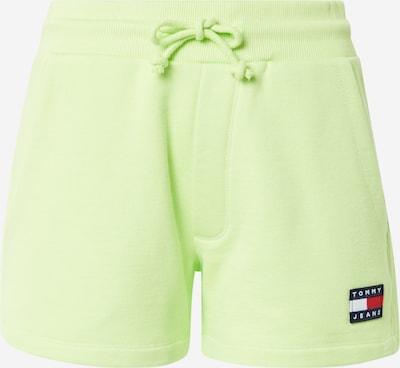 Tommy Jeans Hlače | limeta barva, Prikaz izdelka
