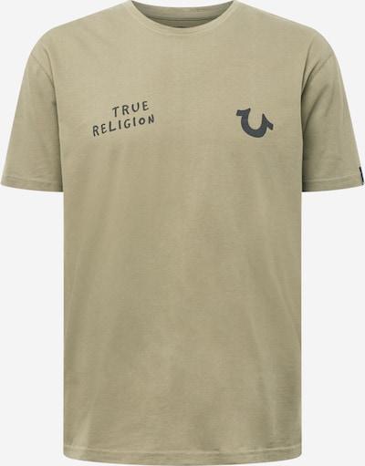 Tricou True Religion pe oliv / negru, Vizualizare produs